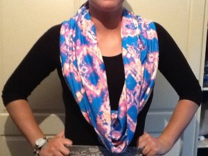 one of my little creations - nursing scarf